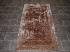 Modern Aprox 5x3 80x150cm Woven Backed Top Quality Sparkle Beige Rugs Shaggy New
